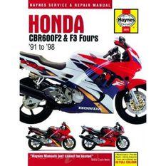 HONDA CBR600F2 & F3 FOURS 1991 - 1998, , scanz_hi-res