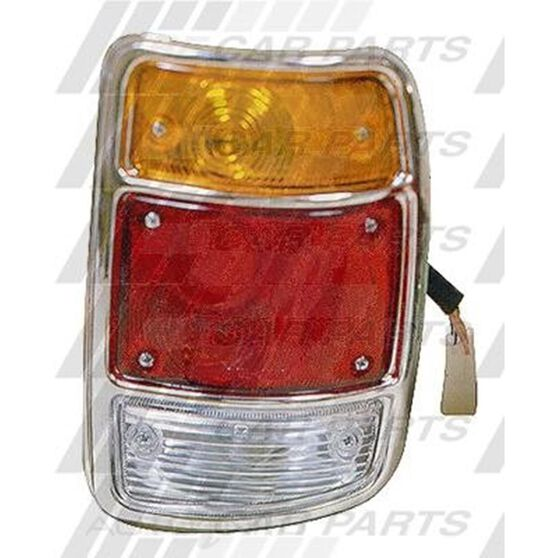 REAR LAMP - R/H - CHROME RIM