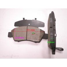 D1643-8870=FMSI for Royale Brake Set  F  Honda Civic / Logo Jazz / Fit 92-, , scanz_hi-res