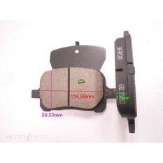 D707-7581=FMSI for Royale Brake Set  F  Toyota Camry 97-01, , scanz_hi-res