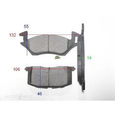 GDB878=TRW for Royale Brake Set  F  Toyota Starlet EP82, , scanz_hi-res