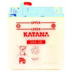 6N6-3B Katana Motorcycle Battery