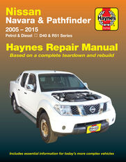 NISSAN NAVARA D40 PATHFINDER R51
