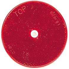 REFLECTOR RED 84MM WITH HOLE, , scanz_hi-res