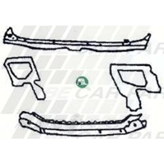 RADIATOR SUPPORT - FRONT PANEL ASSY, , scanz_hi-res