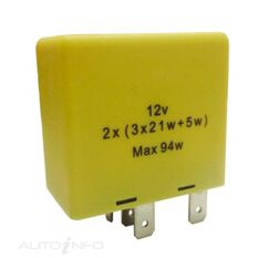 FLASHER  12V 6PIN OUTAGE BOXED (EA), , scanz_hi-res
