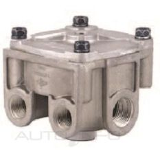 BENDIX R12 RELAY VALVE HORIZONTAL PORTS, , scanz_hi-res