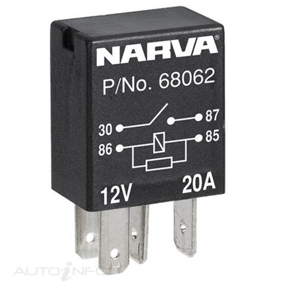 RELAY MICRO 24V 4 PIN 10AMP, , scanz_hi-res