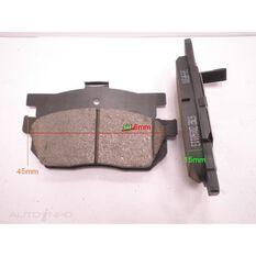 D256-7162=FMSI for Royale Brake Set  F  Honda Accord / Civic/ Prelude, , scanz_hi-res