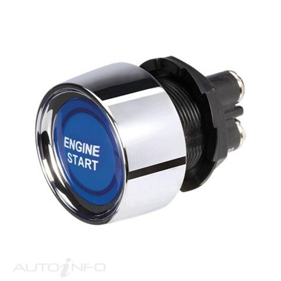 SWITCH START LED BLUE 12V 50A
