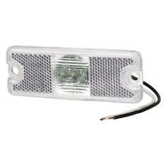 LED 12/24V CLEAR FRONT MARKER, , scanz_hi-res
