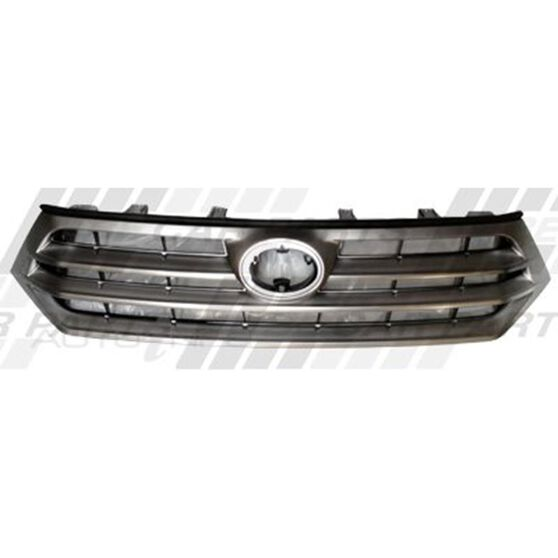 GRILLE - PAINTED SILVER/BLACK, , scanz_hi-res