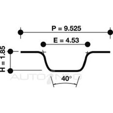 T/BELT SUZ F10 G10 G13B 83>99 89*19 SOHC SQ TTH, , scanz_hi-res