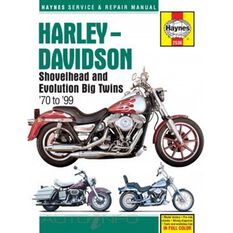 HARLEY-DAVIDSON SHOVELHEAD AND EVOLUTION, , scanz_hi-res