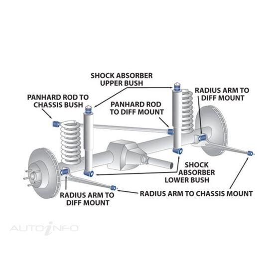 FORD F250 FRT/SW/BAR/MNT/ TO/CHAS/BUSH KIT (2), , scanz_hi-res