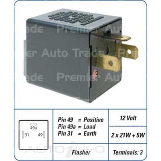TOY 3PIN FLSHER 81981-02010, , scanz_hi-res