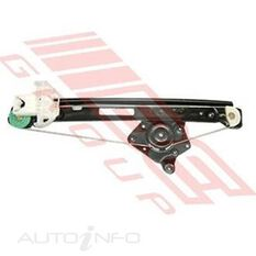 WINDOW REGULATOR - REAR - L/H - W/O MOTOR