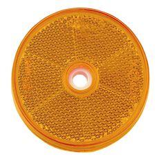 AMBER REFLECTOR 60mm dia PK2, , scanz_hi-res