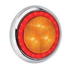 LED 43 9-33V REAR INDICATOR CHROME, , scanz_hi-res