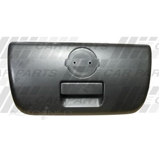 TAILGATE HANDLE - BLACK - NON LOCKING TYPE, , scanz_hi-res