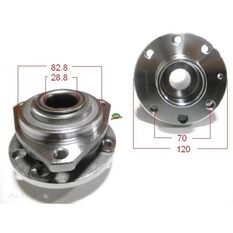 Holden Astra TS 98- Front Hub Non-ABS, , scanz_hi-res