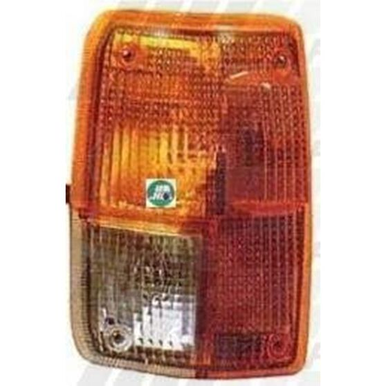CORNER LAMP - LENS - R/H - AMBER/CLEAR, , scanz_hi-res