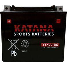 YTX20-BS Katana Motorcycle Battery