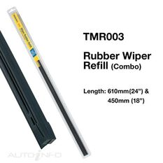 WIPER TRIDON RUBBER COMBO 24IN & 18IN