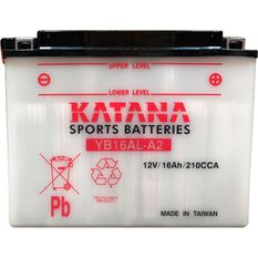 YB16AL-A2 Katana Motorcycle Battery, , scanz_hi-res