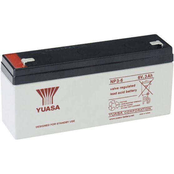 NP3-6FR Yuasa NP VRLA Battery, , scanz_hi-res