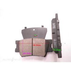 D1212-8332=FMSI for Royale Brake Set  R  Toyota Camry, Rav 4 ABS 06-, , scanz_hi-res