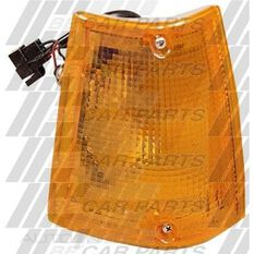 CORNER LAMP LENS - L/H - AMBER, , scanz_hi-res
