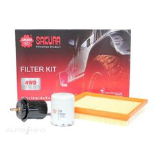 FILTER KIT OIL AIR FUEL MAZDA, , scanz_hi-res