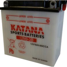 12N9-3B Katana Motorcycle Battery, , scanz_hi-res