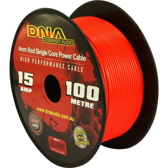 DNA CABLE 15 GAUGE SINGLE CORE CABLE RED 100MTR, , scanz_hi-res