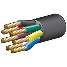 CABLE/TRA 7 CORE 25AMP 4MM 30M, , scanz_hi-res