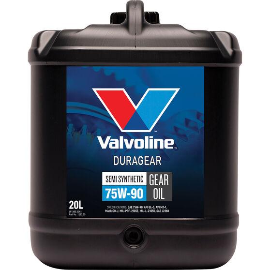 VALVOLINE DURAGEAR 75W/90 20L, , scanz_hi-res