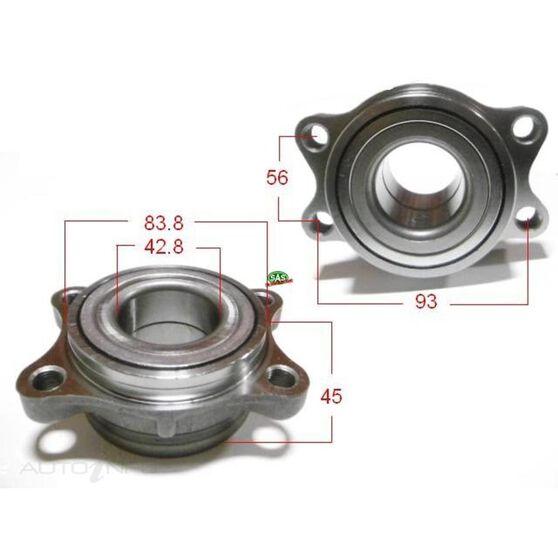 Nissan Skyline V35 01-07 Rear wheel bearing & carrier, , scanz_hi-res