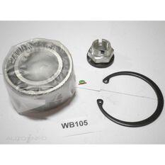 Nissan Front wheel bearing kit, , scanz_hi-res