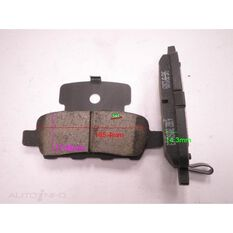 D905-7784=FMSI for Royale Brake Set  R  Murano, Primera, X Trail 01-
