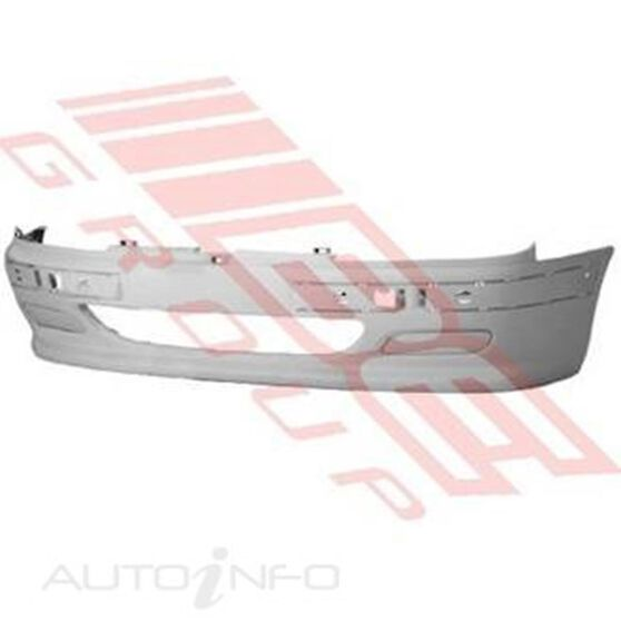 FRONT BUMPER - W/FOG LAMP COVERS