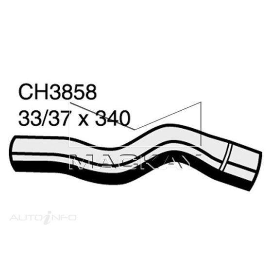 RADIATOR UPPER HOSE  - TOYOTA ESTIMA CXR10R - 2.2L I4 TURBO DIESEL - MANUAL & AUTO, , scanz_hi-res