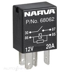 RELAY MICRO 12V 4PIN 20AMP, , scanz_hi-res