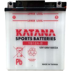 YB12A-B Katana Motorcycle Battery, , scanz_hi-res