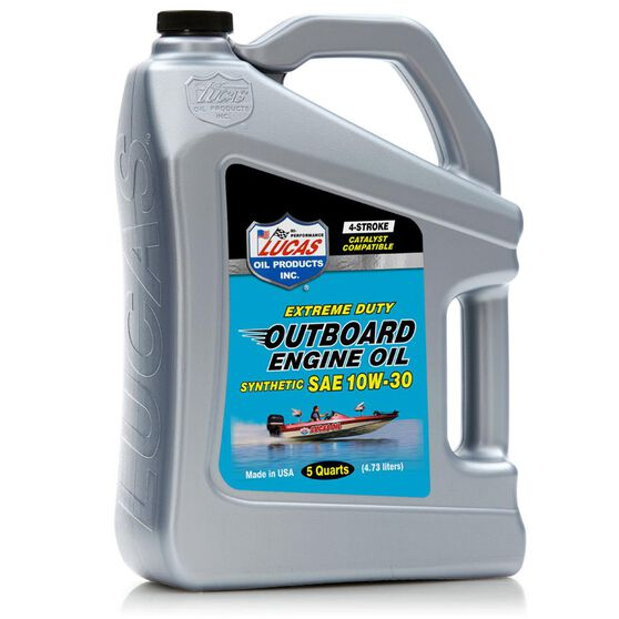 SAE 10W30 SYNTHETIC OUTBOARD ENGINE OIL