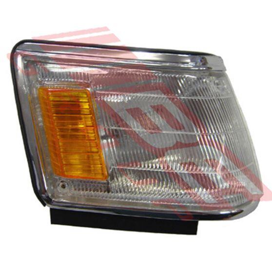 CORNER LAMP - R/H - LARGE - CHROME TRIM, , scanz_hi-res