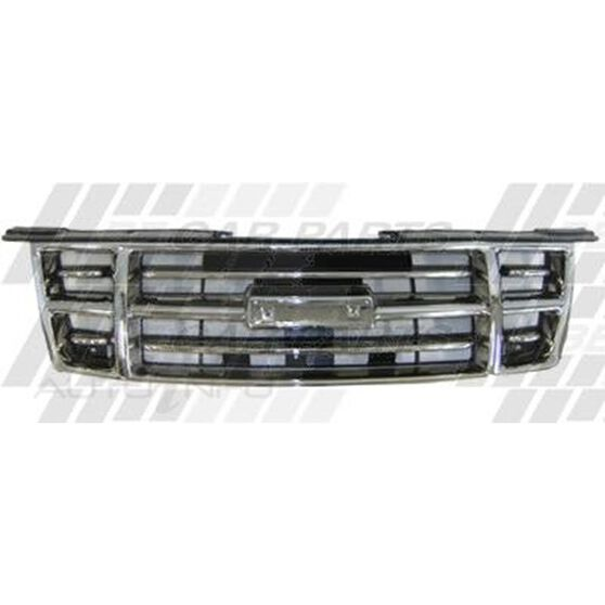 GRILLE - CHROME/BLACK