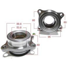 Toyota Hiace HiLux 05- F/Hub Inc AB, , scanz_hi-res
