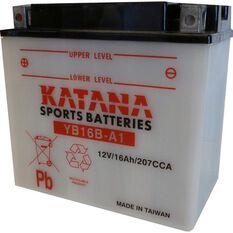 YB16B-A1 Katana Motorcycle Battery