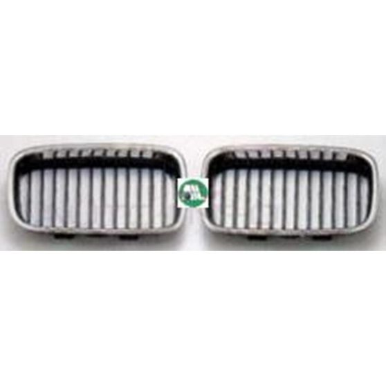 GRILLE - CENTRE - L/H - CHROME/BLACK, , scanz_hi-res
